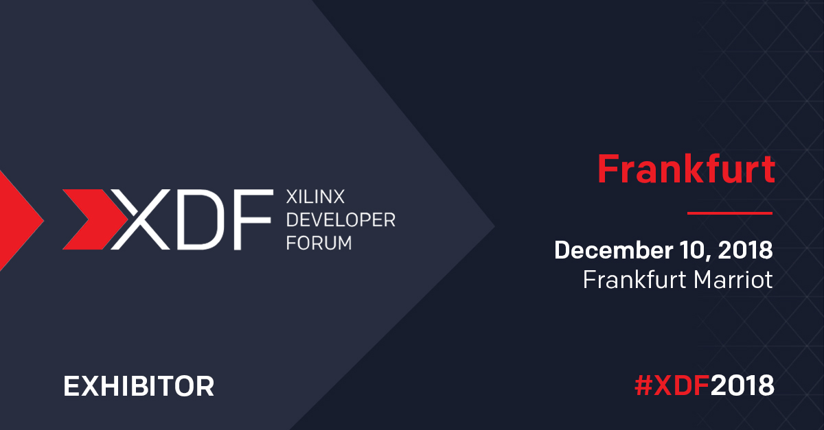 The Xilinx XDFFrankfurt website