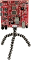 Avnet MicroZed Embedded Vision Development Kit mounted on the tripod