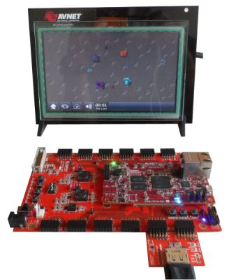 logiREF-DISP-MicroZed reference design - Advanced Display Controller + touchscreen HMI on the MicroZed from Avnet Electronics Marketing