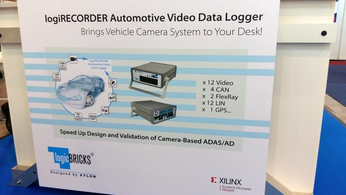 Xylon at Automotive Testing Expo 2017