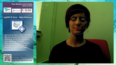 Xylon Face Tracking Reference Design for the MicroZed Embedded Vision Development Kit