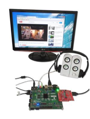 Zynq SoC captures video input