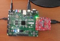 ZedBoard setup that enables quick run of Xilinx Base TRD from the SD card